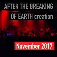 After the breaking of earth